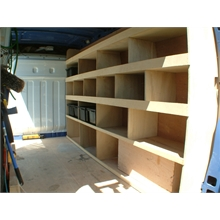 Wooden Internal Shelving